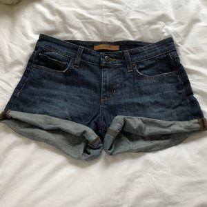 JOE'S Rolled Denim Shorts